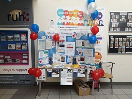 Stand at the Royal United Hospital in Bath