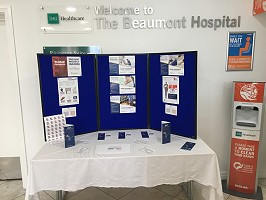 Display at BMI the Beaumont Hospital in Bolton