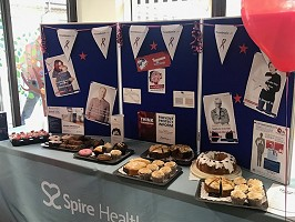 Kings College Hospital - Cake and stall