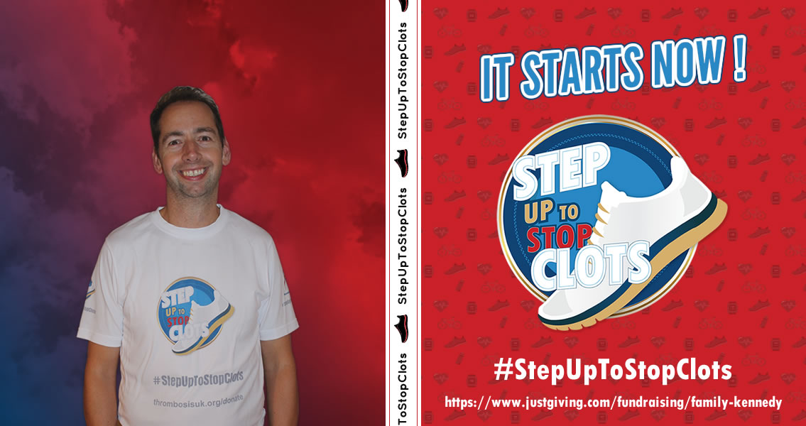 Let the Games Begin - Stepping Up To Stop Clots #StepUpToStopClots