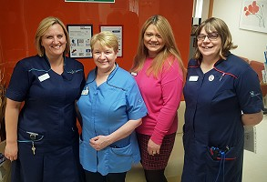 Spire Dunedin Hospital in Reading, Oncology team