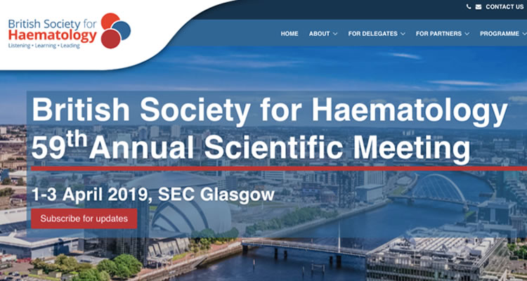 British Society for Haematology 59th Annual Scientific Meeting