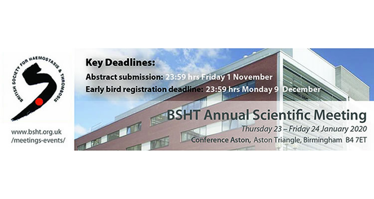 2020 BSHT Annual Scientific Meeting