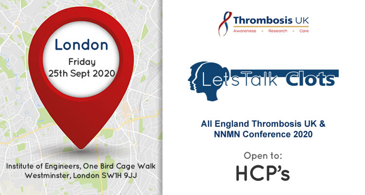 All England Thrombosis UK & NNMN Conference 2020