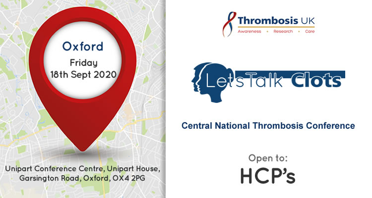 Central National Thrombosis conference
