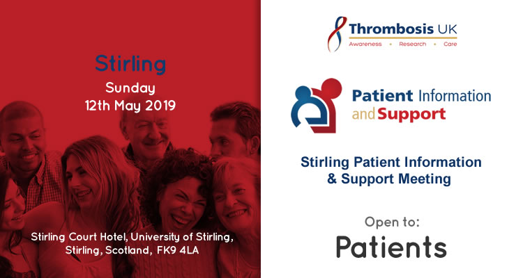 Stirling Patient Information & Support Meeting