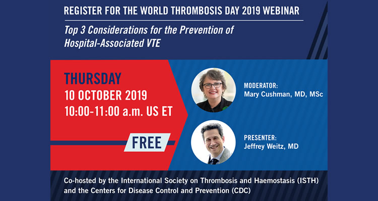 World Thrombosis Day Webinar