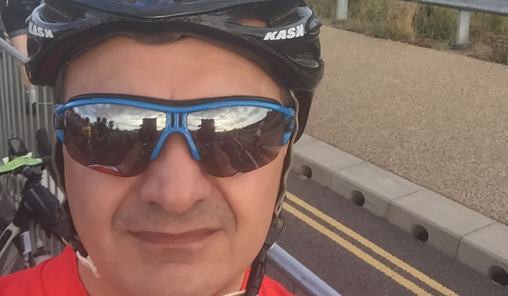 TUK Trustee raised £2,500 riding two cycling events in May and July 2016