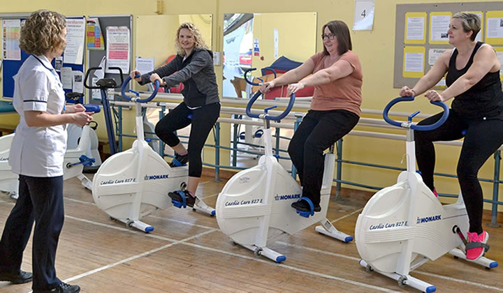 RUH first to offer recovery boosting fitness programme