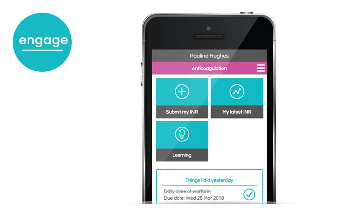 Life-changing self-care app for warfarin patients gains approval to be added to NHS Digital App Library