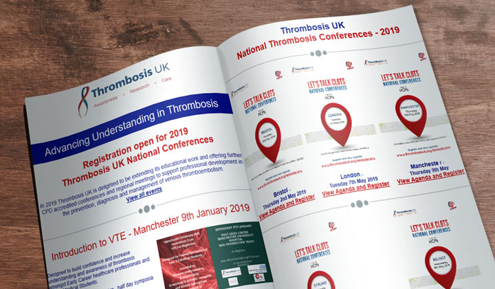 Advancing Understanding in Thrombosis - Thrombosis UK Newsletter