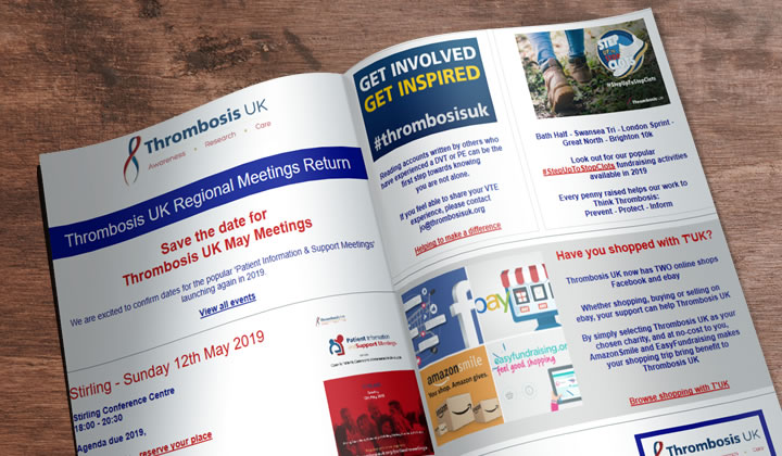 Thrombosis UK Regional Meetings Return  - Thrombosis UK Newlsetter