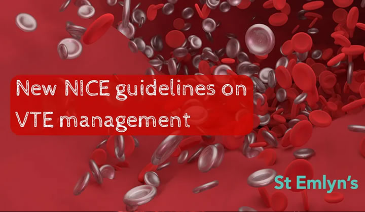 New NICE Guidelines on diagnosis and management of venous thromboembolism,  blog by Dr Dan Horner