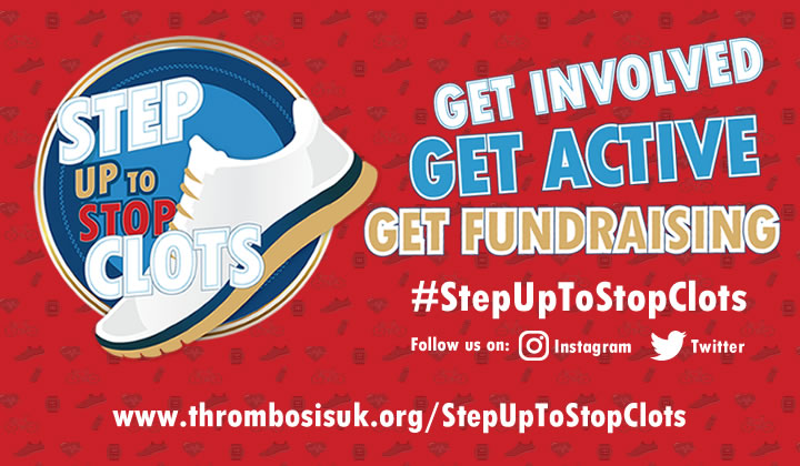 #StepUpToStopClots campaign launched by Thrombosis UK