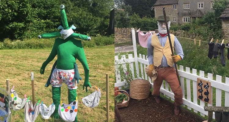 June 2018 - Kington Langley Scarecrow Festival