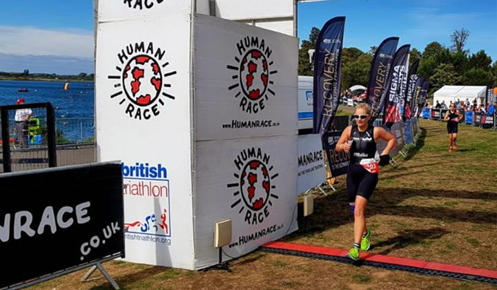Hollie's Olympic Triathlon
