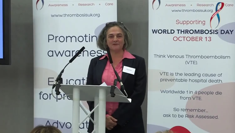 Thrombosis UK Video | Patient Story Alison Wright