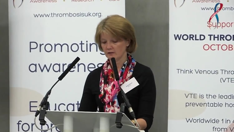 Thrombosis UK Video | Patient Story Astrid Ullrich