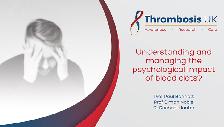 Understanding and managing the impac of blood clots